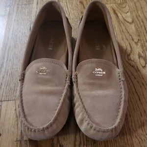 Coach Swede shoes loafers 9